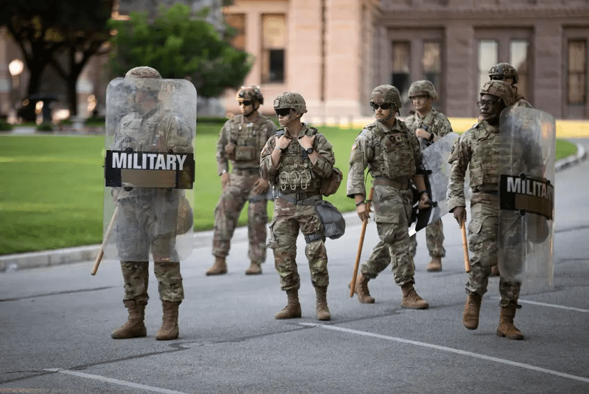 A week before the election, Texas National Guard prepares to deploy troops to cities